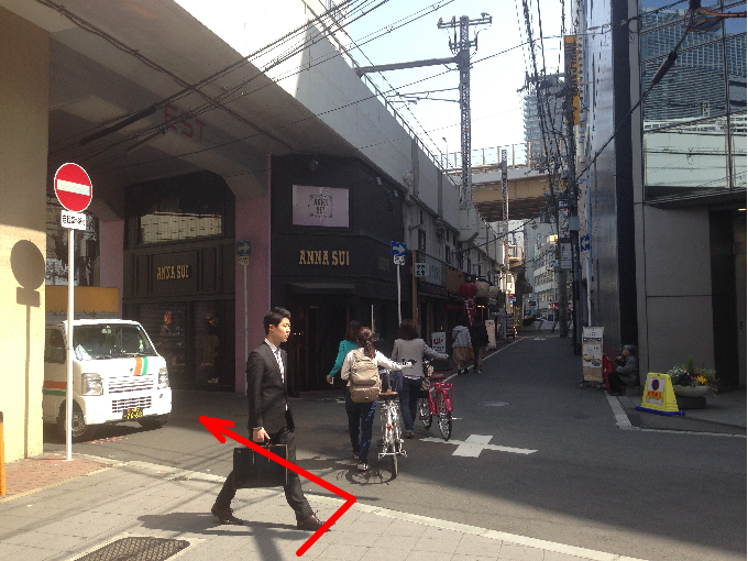 ジャニーズショップ大阪の行き方