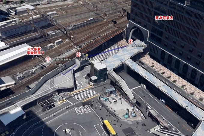 ジャニーズショップ大阪地図1
