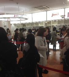 ジャニーズショップ大阪最終日2